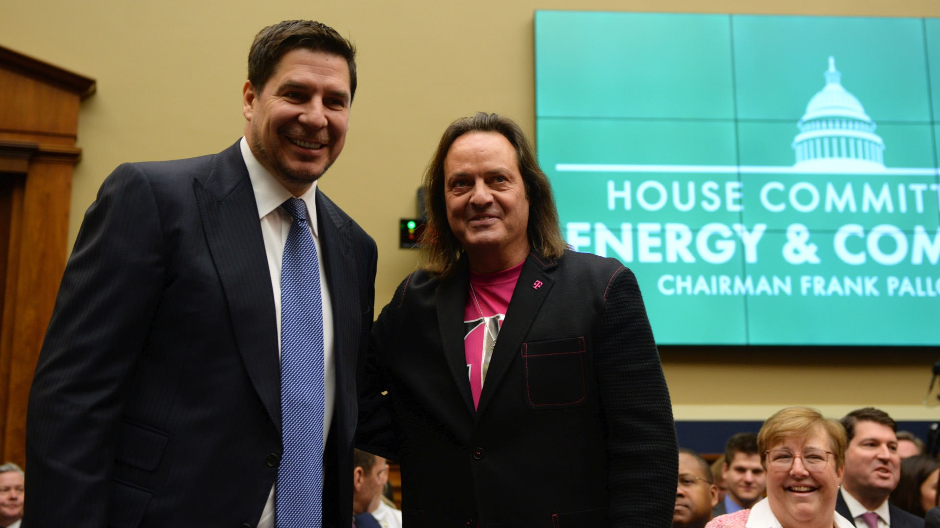 T Mobile Ceo John Legere Defends Sprint Deal In Congress