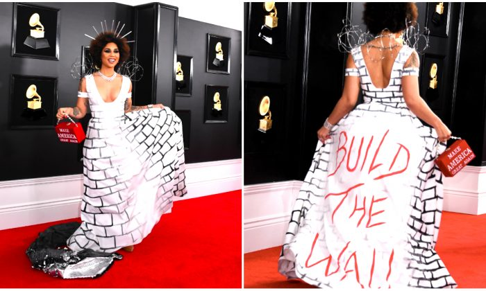 Singer Joy Villa arrives for the 61st Annual Grammy Awards in Los Angeles on February 10, 2019. (Valerie Macon/AFP/Getty Images)