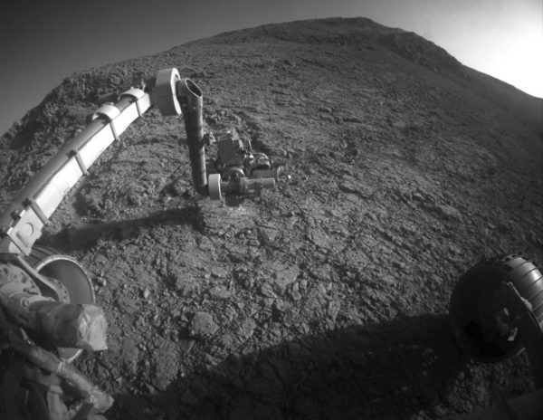 Opportunity rover's robotic arm