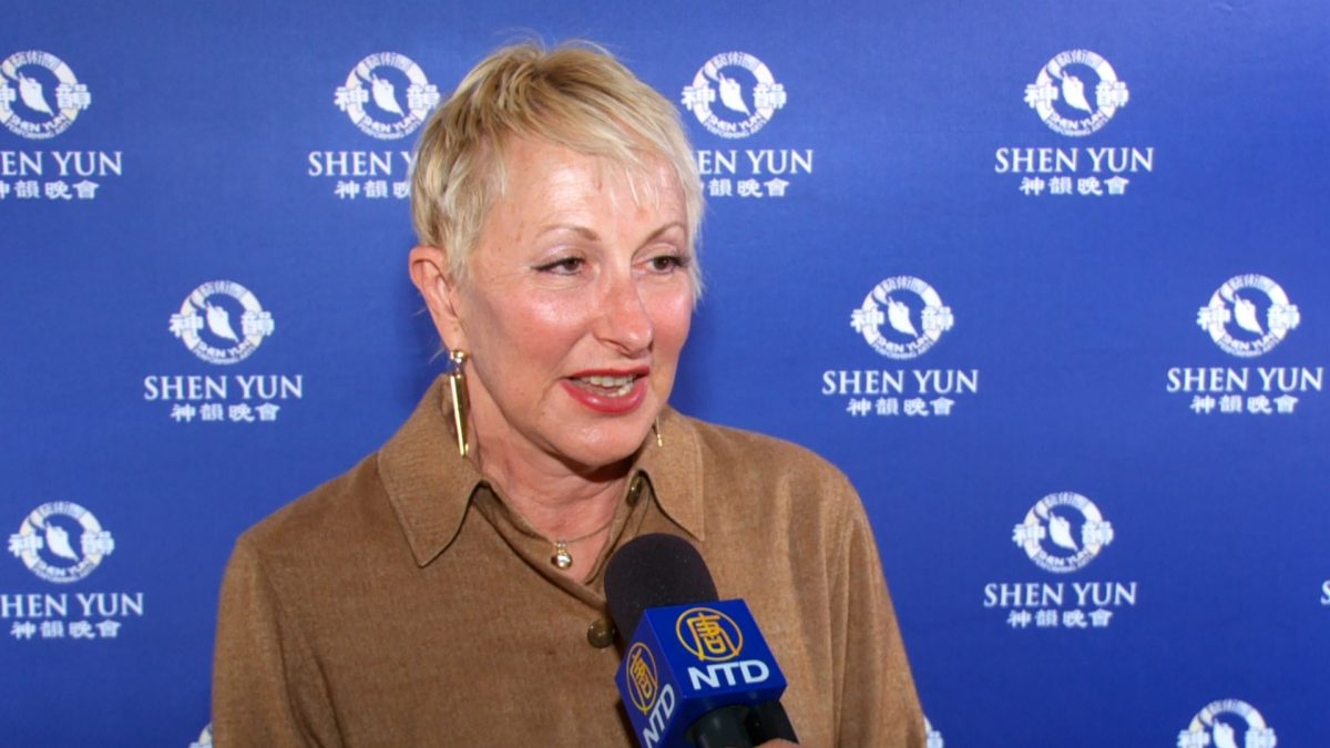 Miriam Orwin, a lawyer who established the Centre of Creative Healing in Melbourne, attended Shen Yun Performing Arts at Regent Theatre in Melbourne, Australia on Feb. 13, 2019. (NTD Television)