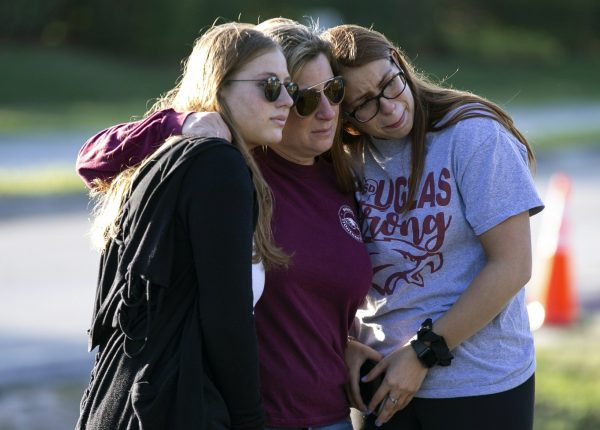 Emma Rothenberg, left to right, with her mother Cheryl Rothenberg and sister