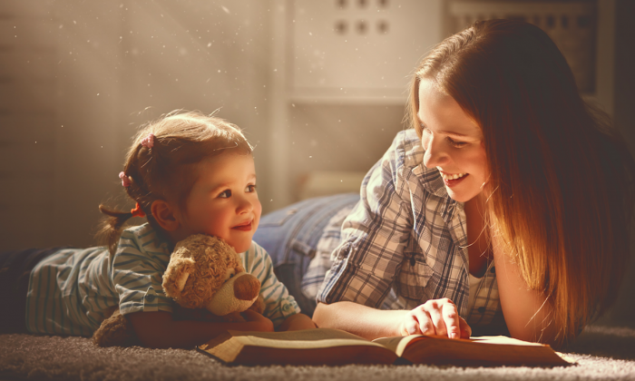 Classic stories and tales can help guide children. (mother_and_child_reading/Shutterstock)