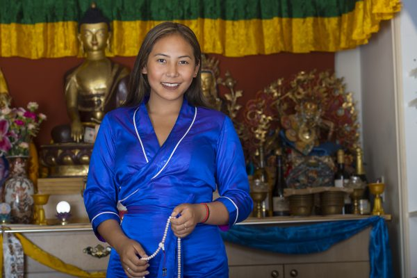 Chemi Lhamo, a student at the University of Toronto Scarborough