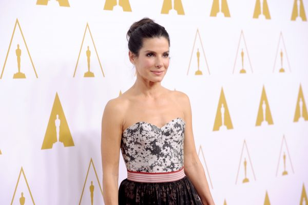 Sandra Bullock All Smiles With New BF After Years of