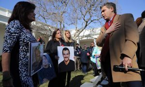Angel Moms Confront CNN Reporter in Rose Garden