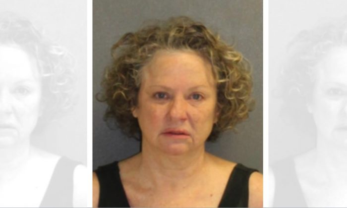 Florida woman Julie Edwards, 53, was arrested on charges of driving while under the influence in Volusia County, Fla. on Feb. 8, 2019. (Volusia County Sheriff's Office)