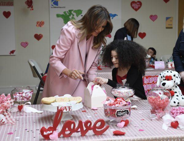 Melania-Trump-Valentines-day