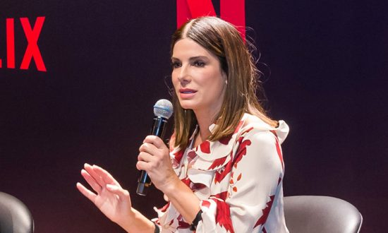 Sandra Bullock Swears 'I Will Move Mountains' to Her Adopted