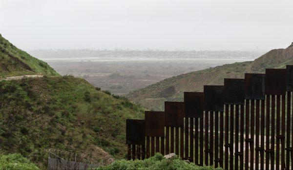 US-Mexico border fence
