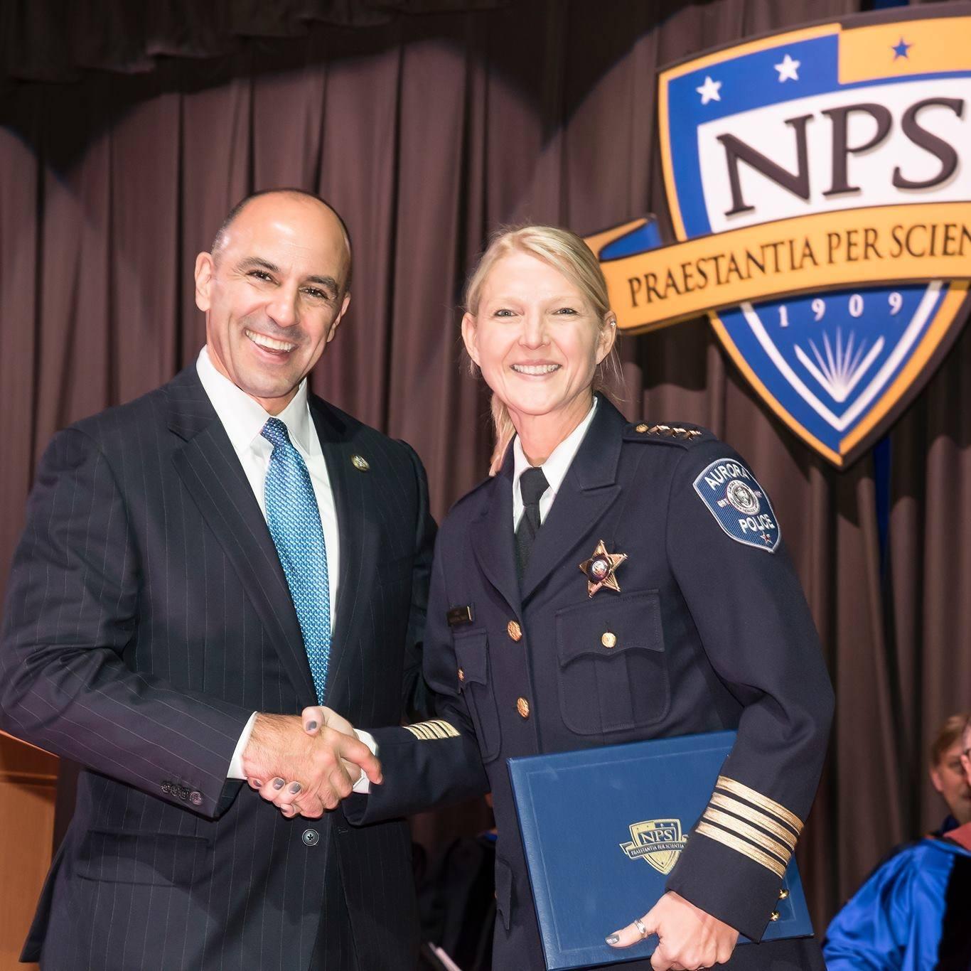 Aurora Police Chief Kristen Ziman. (Facebook)