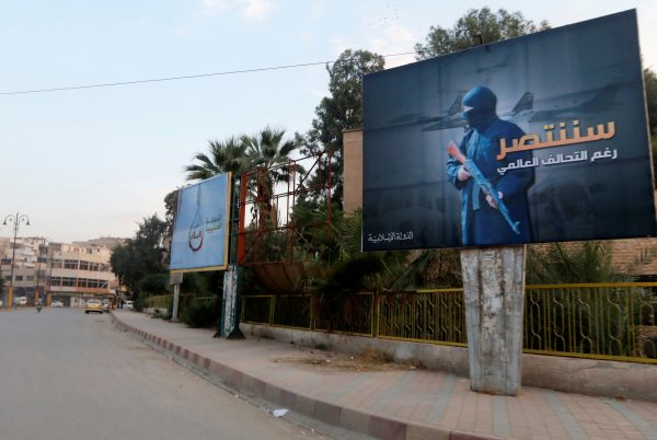 Islamic State billboards