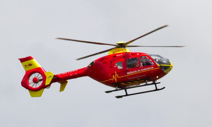 A file photo of an emergency helicopter. (Creative Commons Attribution 2.0 Generic license/Tony Hisgett via Flicker)