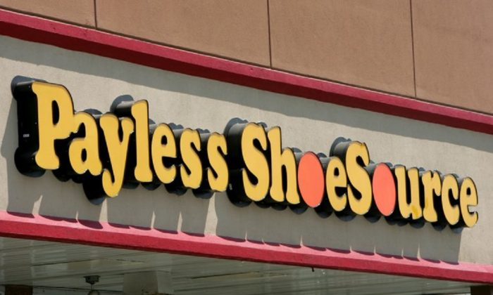 A Payless store front is seen in Philadelphia. Paylesss ShoeSource is shuttering all of its 2,100 remaining stores in the U.S. and Puerto Rico, joining a list of iconic names like Toys R Us and Bon-Ton that have been shuttered in the last year. (AP Photo/Matt Rourke, File)