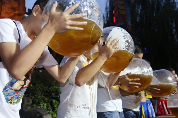 Beer competition.