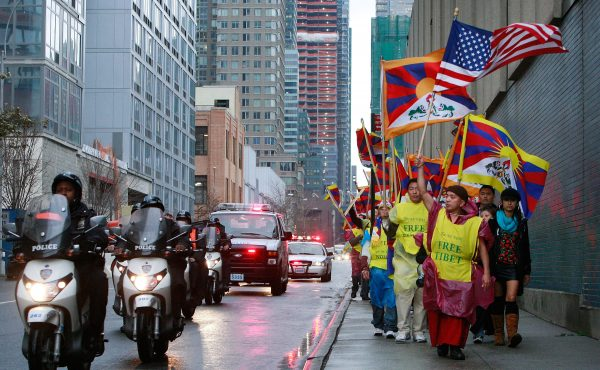 Free Tibet march