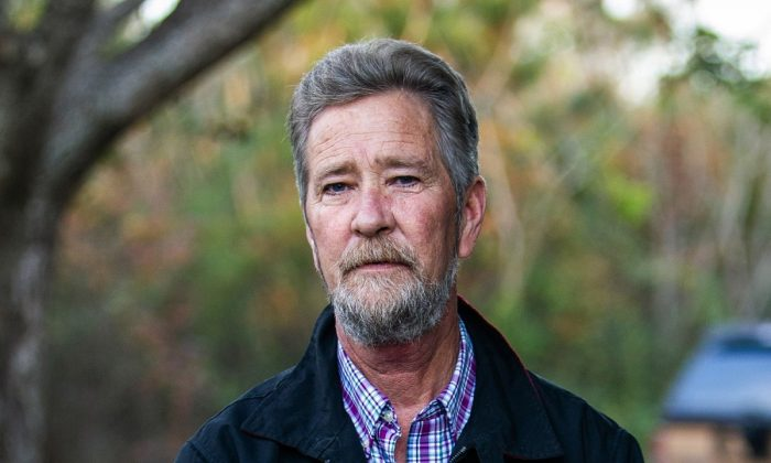Leslie McCrae Dowless Jr. poses for a portrait outside of his home in Bladenboro, N.C., on Feb. 11, 2019. (Travis Long/The News & Observer via AP, File)