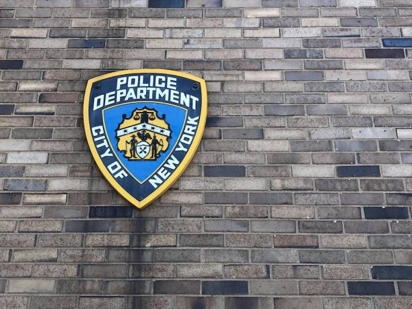 NYPD police cop logo stock