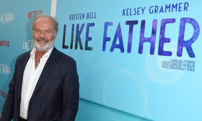 "Kelsey Grammer attends the premiere of Netflix's ""Like Father"" at ArcLight Hollywood on July 31, 2018 in Hollywood, California.  (Photo by Kevin Winter/Getty Images)"
