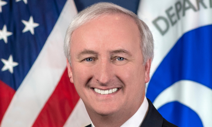Deputy Secretary of the Department of Transportation Jeffrey Rosen is shown in Washington, in this undated photo obtained Feb. 19, 2019. (U.S. Department of Transportation/Handout via Reuters)