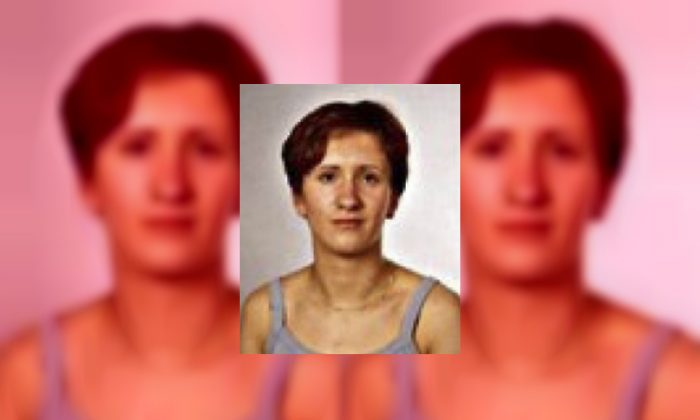 Jasmina Dominic who was reported missing in 2005 but was last seen in 2000. (Croatian Interior Ministry via AP)