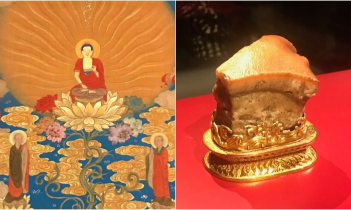 Items from Taiwan's National Palace Museum on display at the National Gallery of NSW (The Epoch Times)