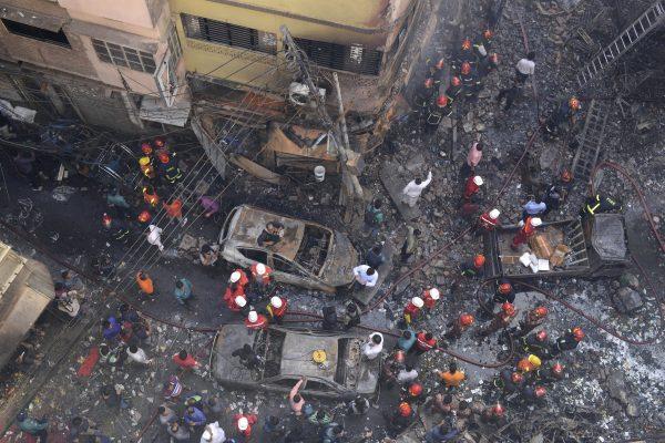 Dhaka, Bangladesh devastating fire 1