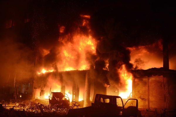 Dhaka, Bangladesh devastating fire 10
