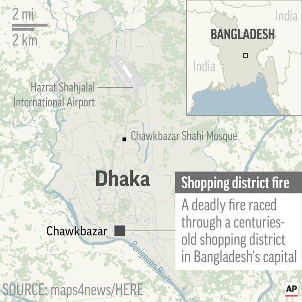 Dhaka, Bangladesh devastating fire 2