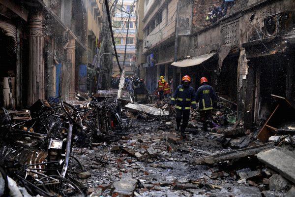 Dhaka, Bangladesh devastating fire 4