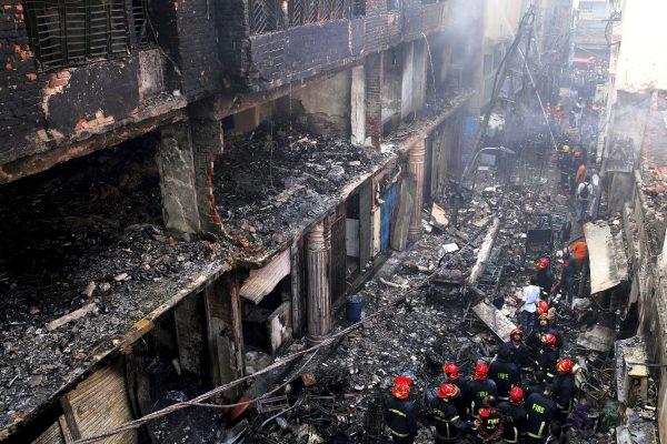 Dhaka, Bangladesh devastating fire 7