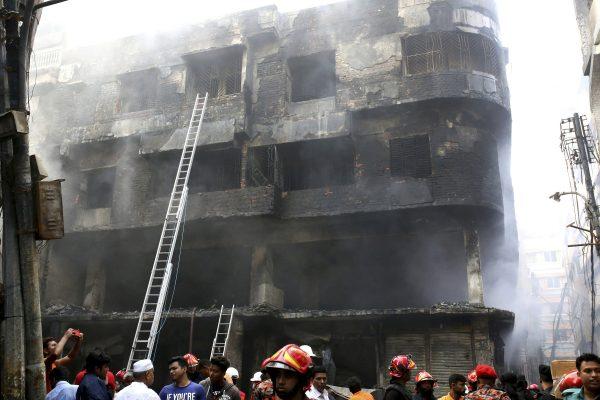 Dhaka, Bangladesh devastating fire 9