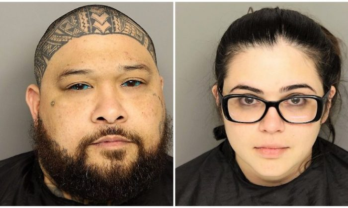 Robert Earl Kailiala Saladaga (R) and Sabrina Irene Emerick. (Greenville Police Department)