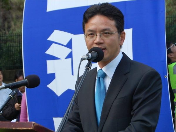 Chen Yonglin, a former Chinese diplomat who defected to Australia.