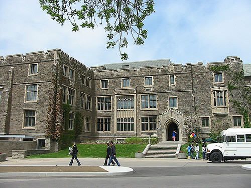 A McMaster University building