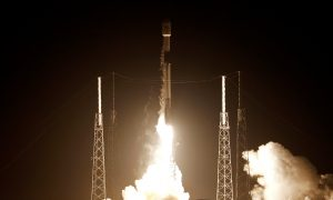 SpaceX Launches Station Supplies, Celebrates 50th Rocket Landing