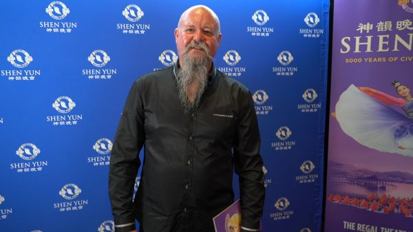 Gold mine supervisor Mark Hayman saw Shen Yun in Perth's Regal Theatre, Western Australia, on Feb. 20, 2019. (NTD Television)