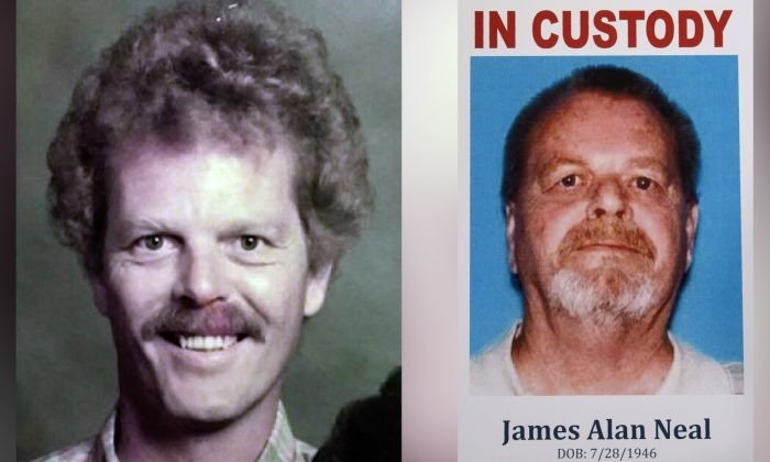 This undated photo provided by the Orange County District Attorney's Office shows James Neal. (Orange County District Attorney's Office via AP)