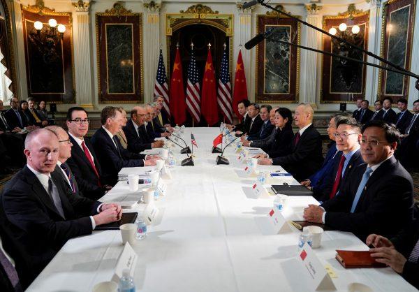 US-China trade talk