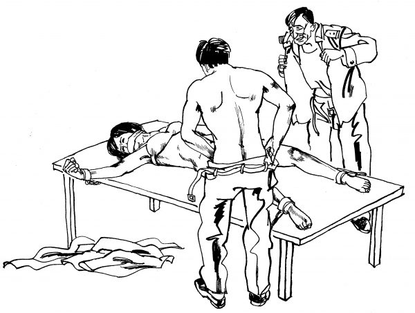 Sexual torture in China