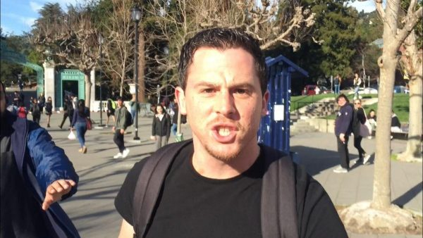 The person who attacked conservative activist Hayden Williams at the University of California at Berkeley