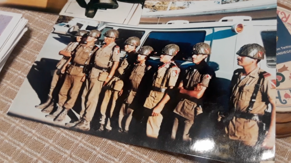 Squad of Mexican Army
