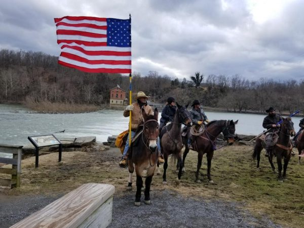 Cowboys for trump ride to D.C.
