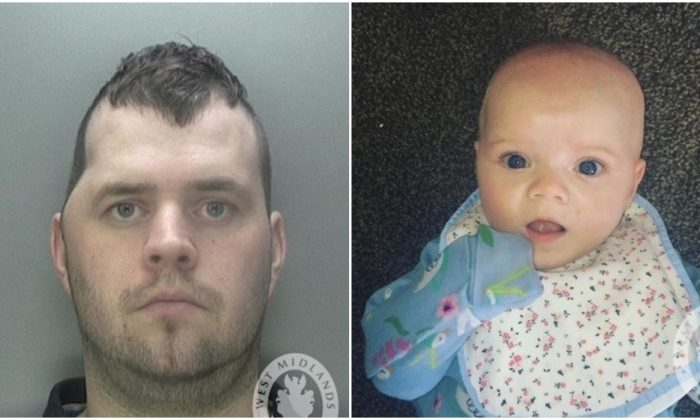Neil Smith (L), who was convicted of murdering his daughter Hope Smith (R). (West Midlands Police)