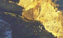 Tide Halts Search for San Francisco Beach Landslide Victim