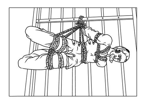 Straitjacket torture
