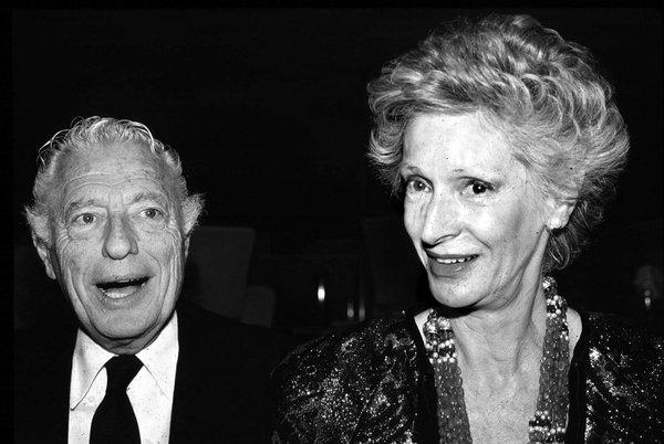Giovanni Agnelli and his wife Marella Caracciolo are shown in this 1988 file photo. (AP Photo/Alberto Ramella)