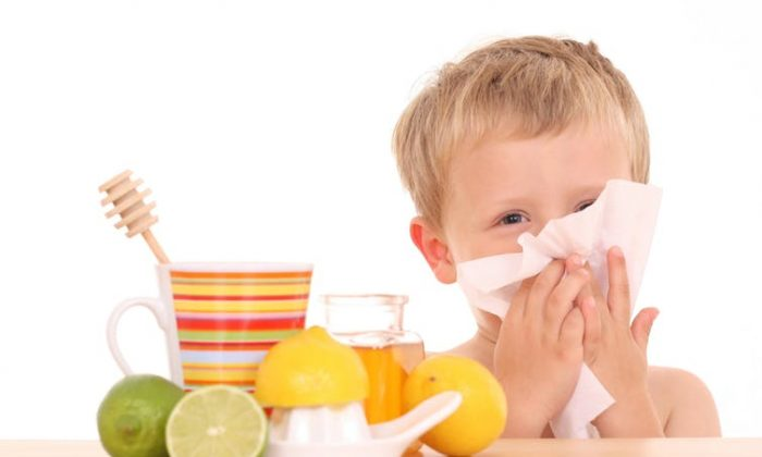 Young children are better served with a bit of honey and healthy foods as they build up their immunity to the viruses that give them so many colds. (Shutterstock)