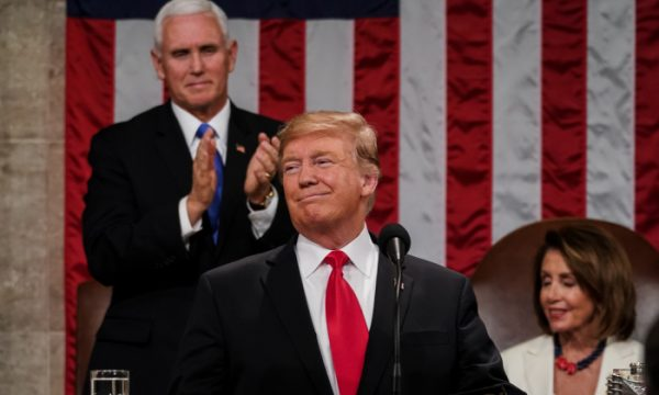 President Donald Trump delivered the State of the Union address