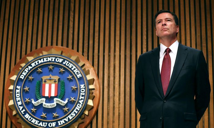 FBI Director James Comey at FBI headquarters in Washington on June 23, 2014. (Mark Wilson/Getty Images)