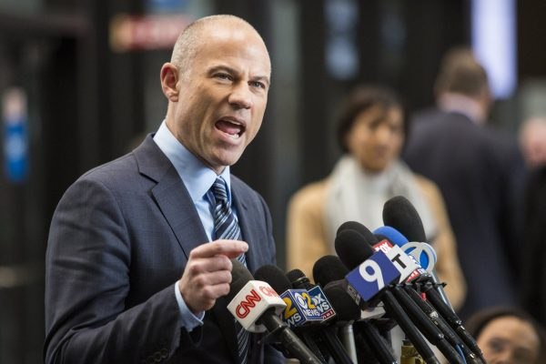 Attorney Michael Avenatti, who is representing an alleged R. Kelly victim,